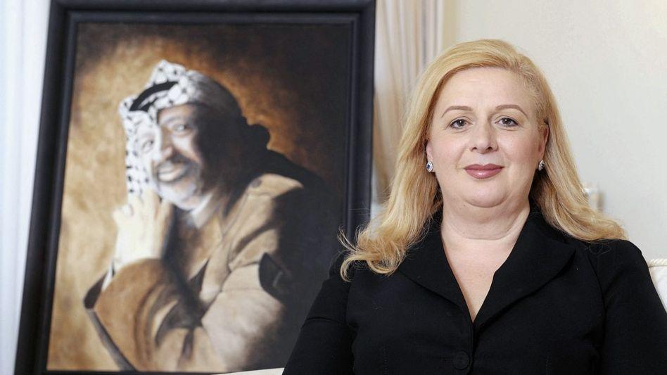 Hinterbliebene Arafat auf Malta: Die Rolle der rächenden Witwe käme ihr nicht ungelegen