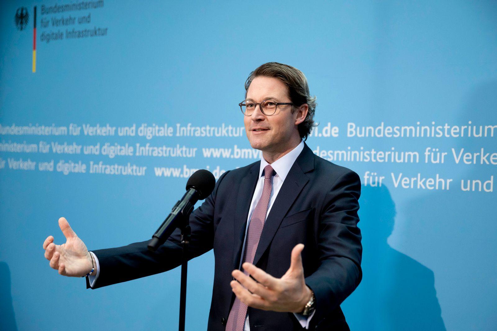 Verkehrsminister Scheuer zu Tempolimit