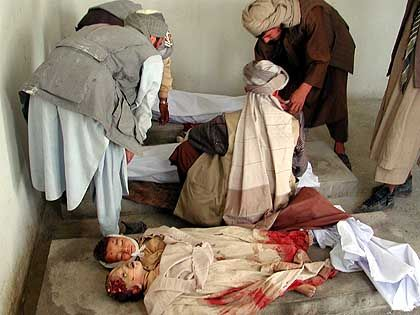 """Opfer der US-Angriffe vom 21. Oktober: """"Ein Morast von Brutalität"""""""