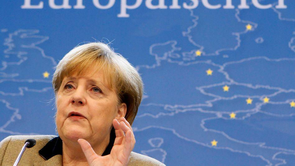 Kanzlerin Merkel auf dem EU-Gipfel: Alle Augen auf Deutschland gerichtet