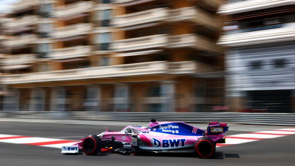 Racing Point rast künftig unter dem Namen Aston Martin durch Monte Carlo