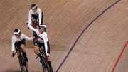 Bahnrad-Vierer der Frauen gewinnt Gold in Weltrekordzeit