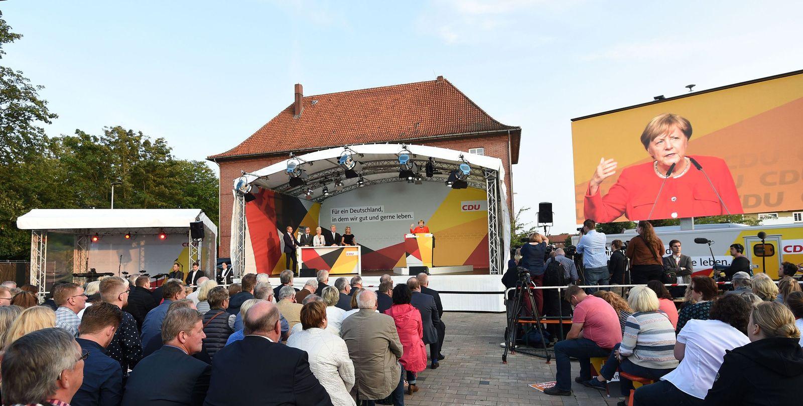 Angela Merkel / Wahlkampf