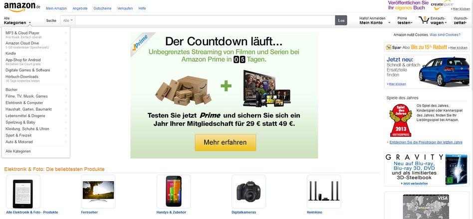 Amazon-Video-Website: Ab dem 26. Februar auch in Deutschland verfügbar