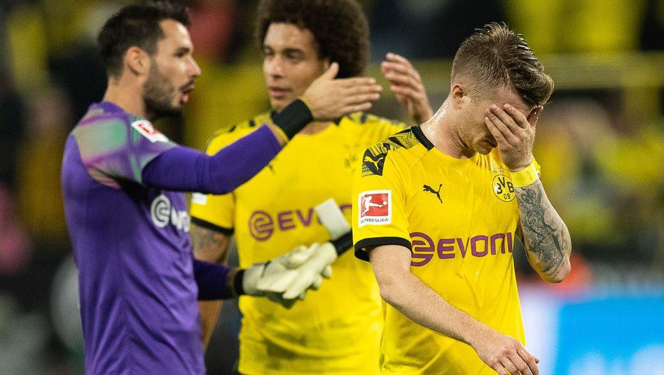 Formkrise des Erstligisten: Beim BVB hakt's