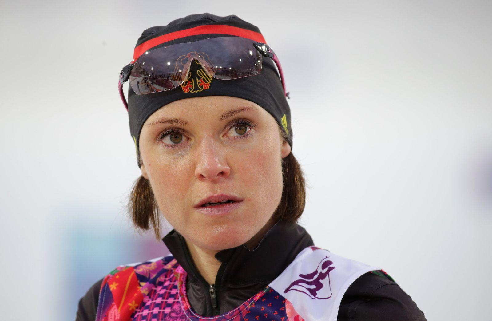 Sotschi 2014 - Evi Sachenbacher-Stehle