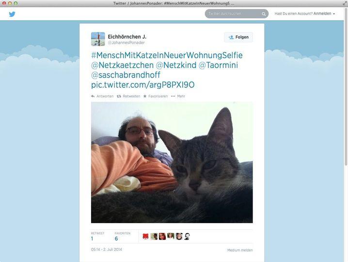 Ex-Geschäftsführer Ponader: Glücklich mit Katze