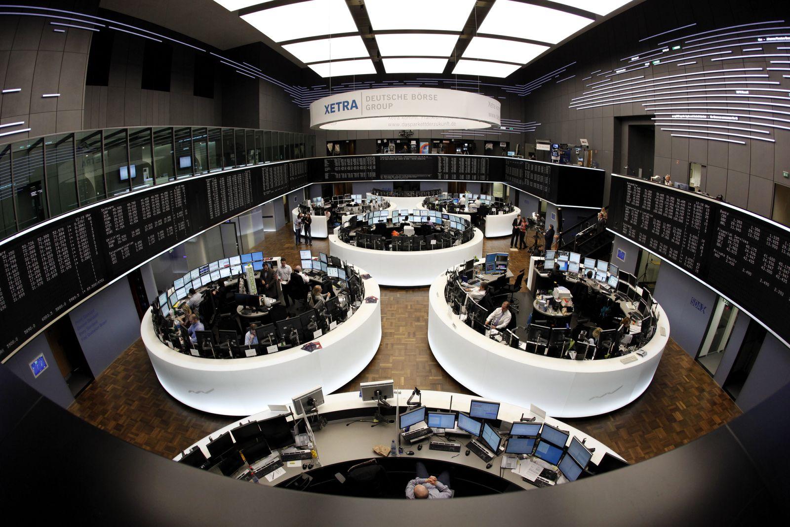 NICHT VERWENDEN Börse Frankfurt / DAX