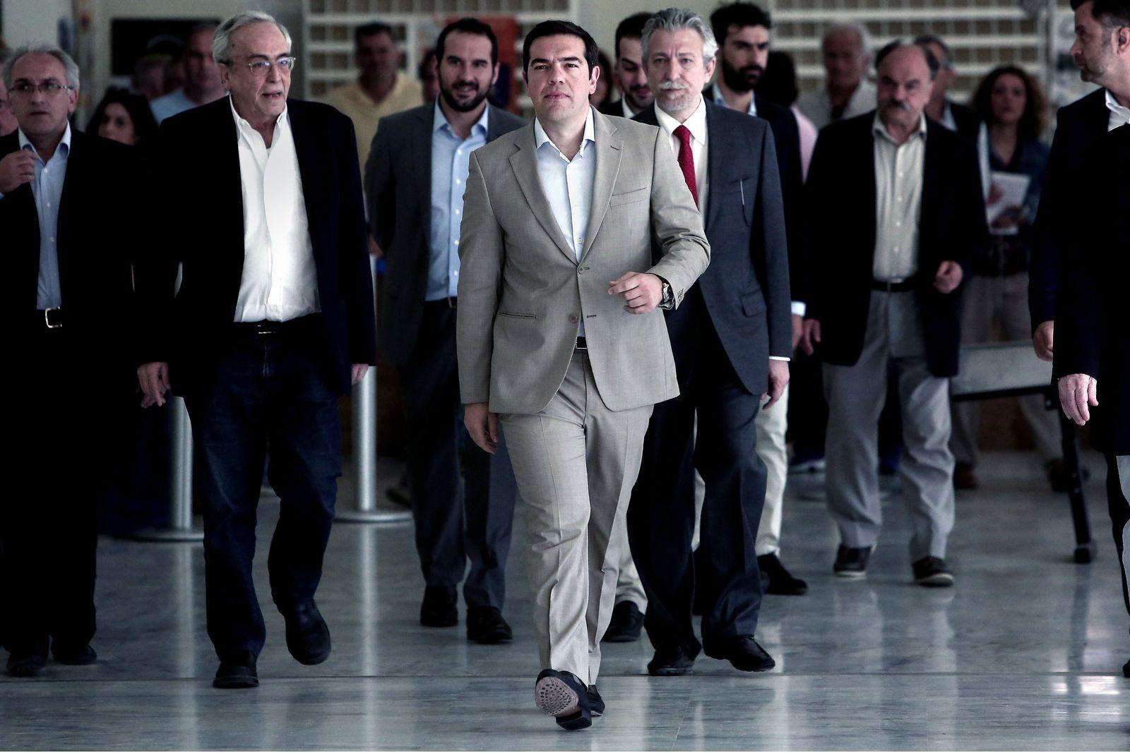 GREECE-ECONOMY-POLITICS-EU
