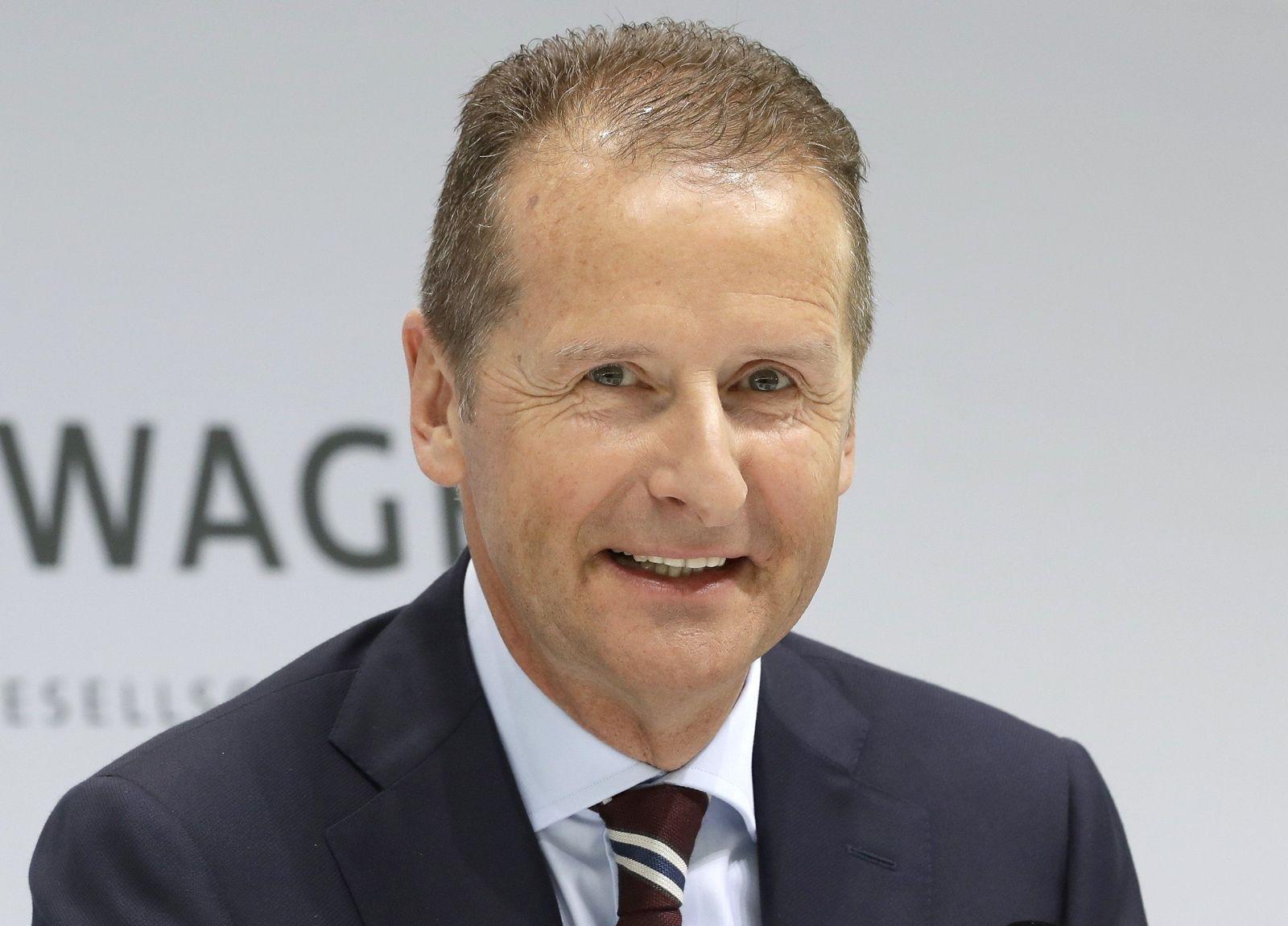 Germany Volkswagen diess