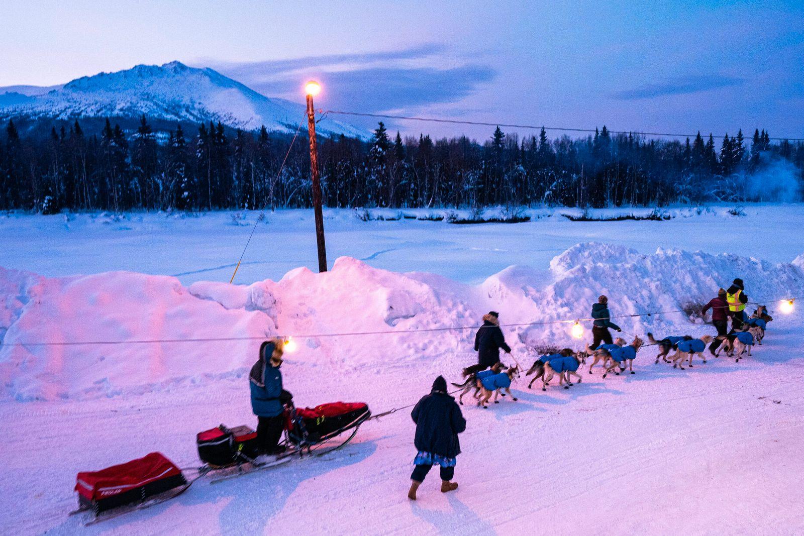 2020 Iditarod, Iditarod 2020, Linwood Fiedler, Takotna, iditarod