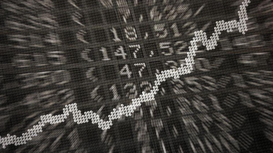 Börsenchart: Aktienfonds sind für viele eine völlig neue Welt