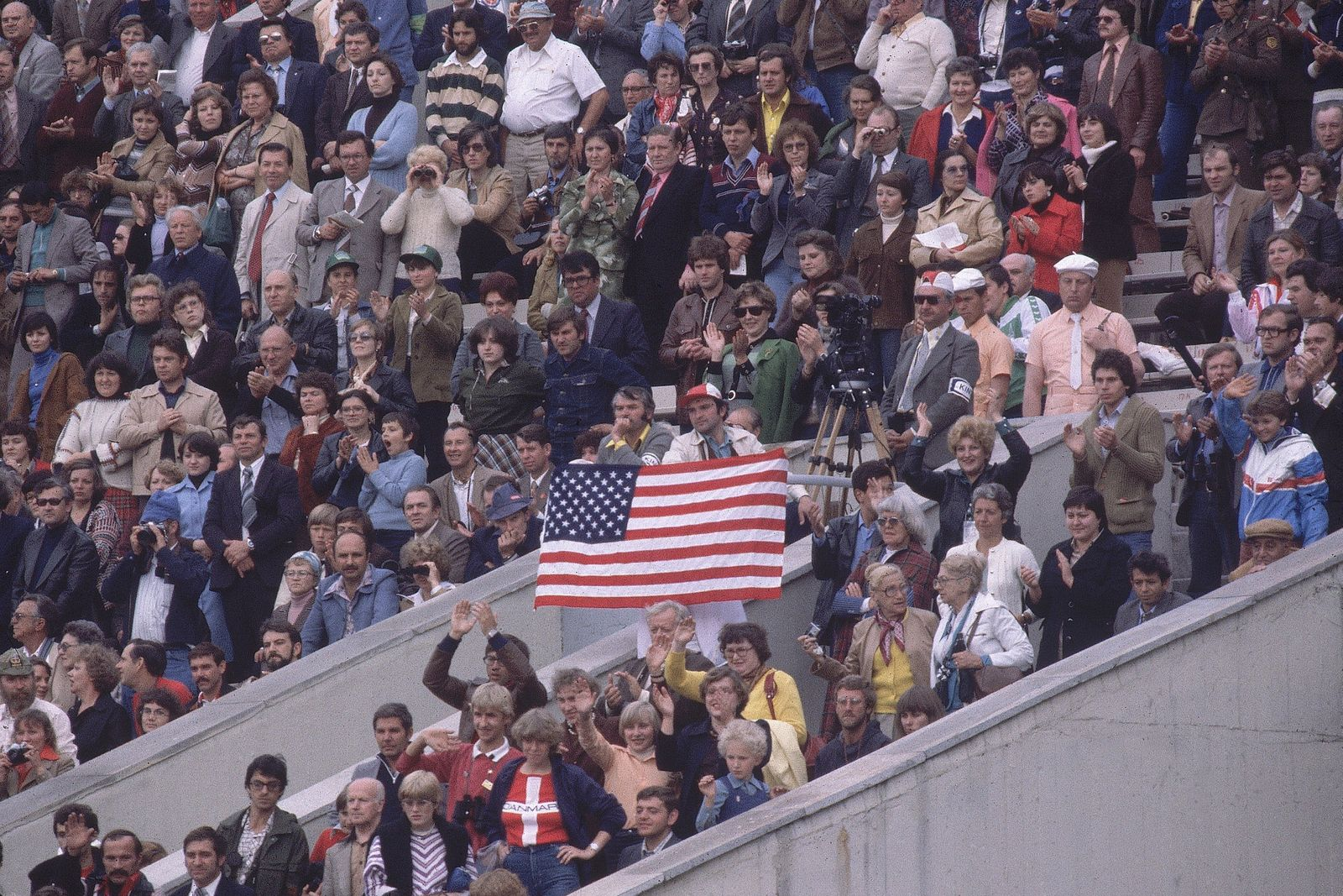 Opening Ceremony, 1980 Summer Olympics