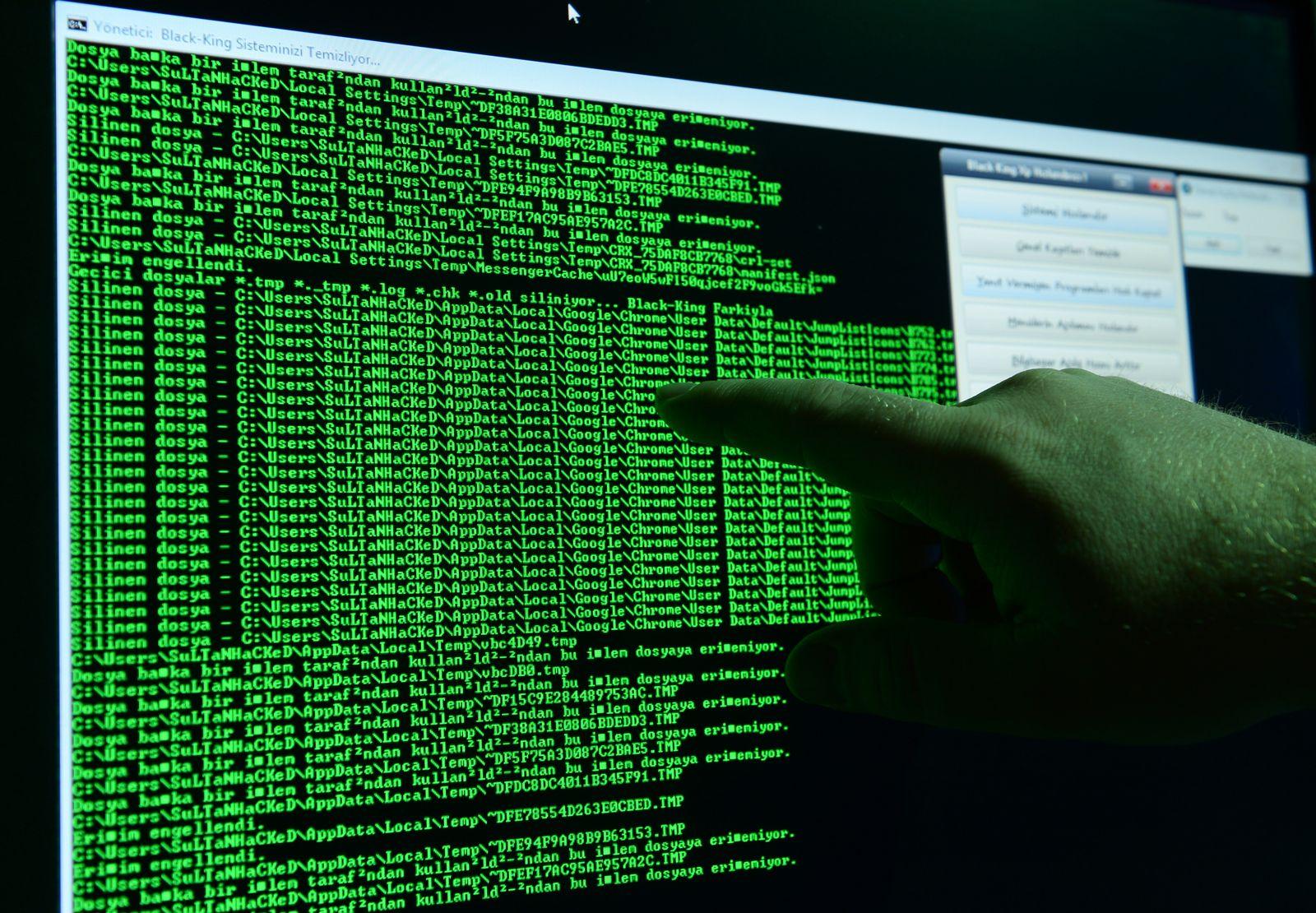 EINMALIGE VERWENDUNG Ransomware/ Virus
