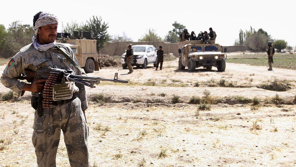 Afghanische Kämpfer nahe Kunduz: Verschlechterung der Sicherheitslage