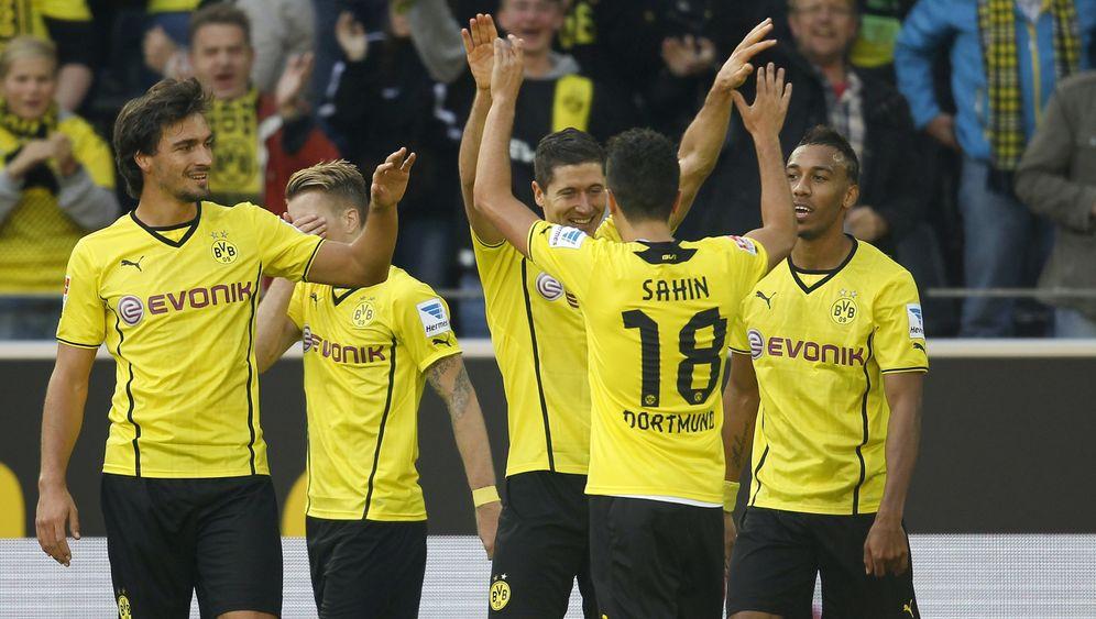 Fußball-Bundesliga: BVB souverän, Mainz enttäuscht