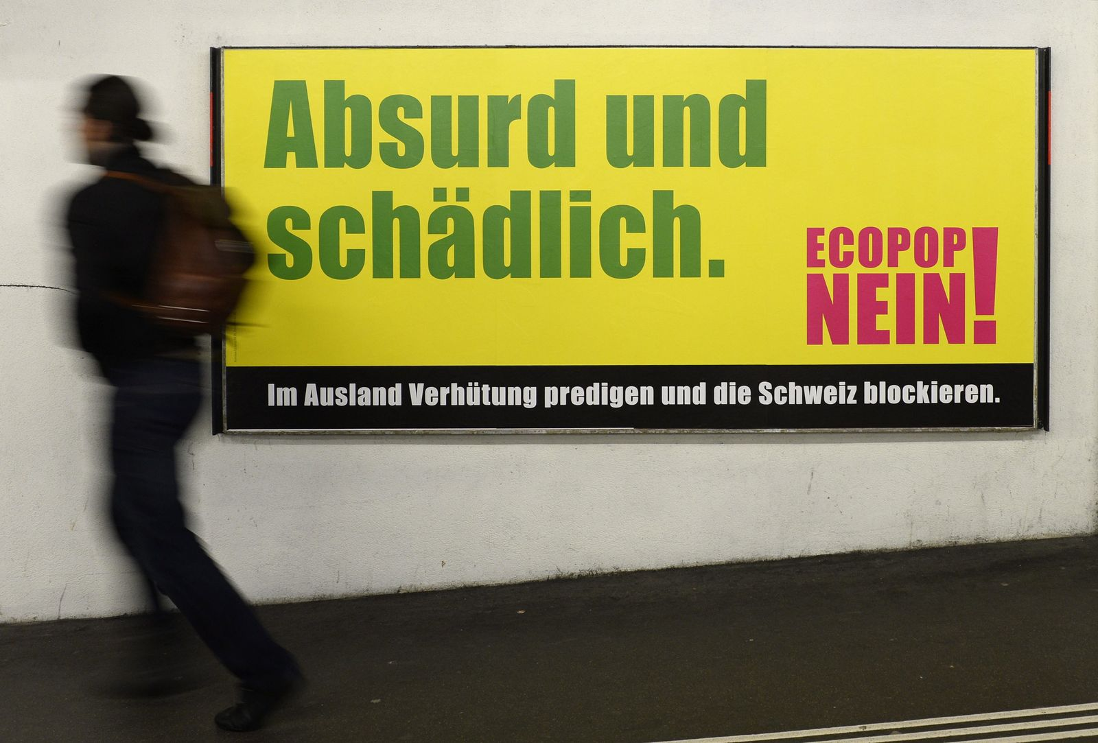 Ecopop initiative Schweiz