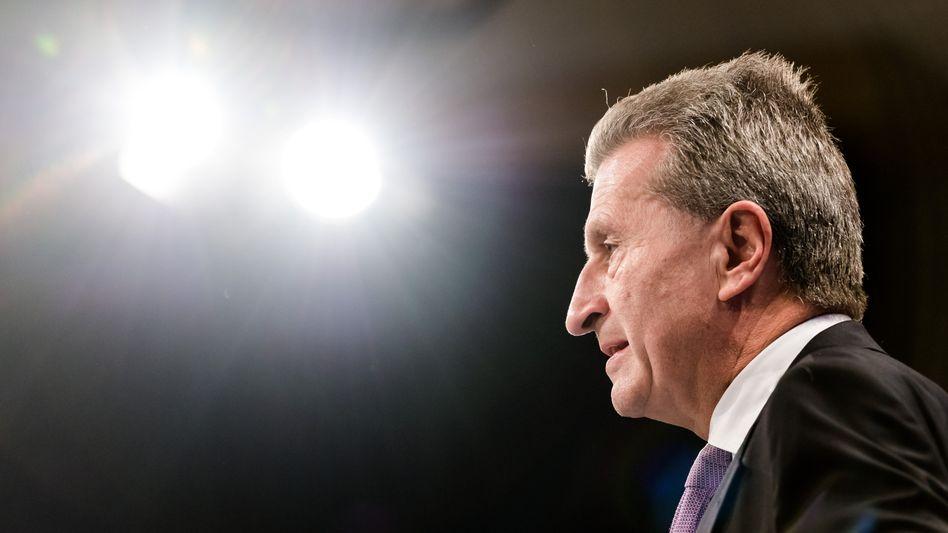 Künftiger EU-Digitalkommissar Oettinger: Ambitionierte Pläne