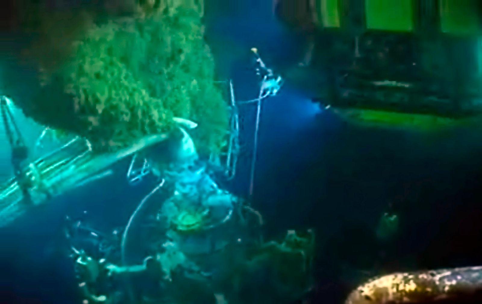 Gulf Oil Spill Robots