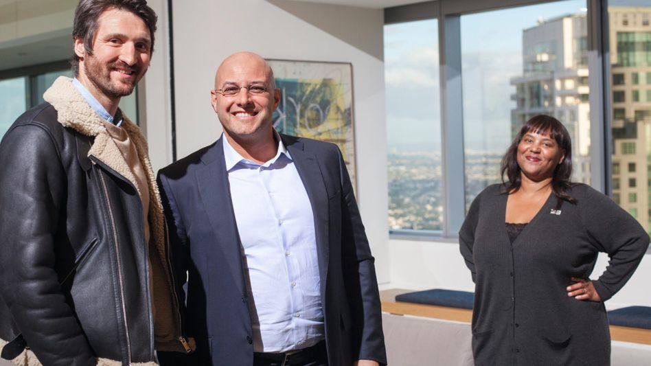 Oehmke, Silbermann, Bartlett in Los Angeles