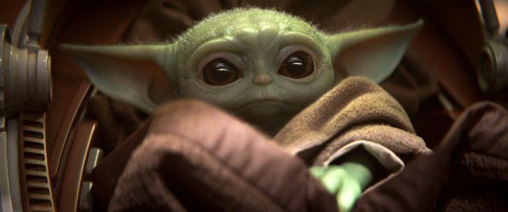 """Kurzauftritt von Baby-Yoda in der Disney+-Serie """"The Mandalorian"""""""