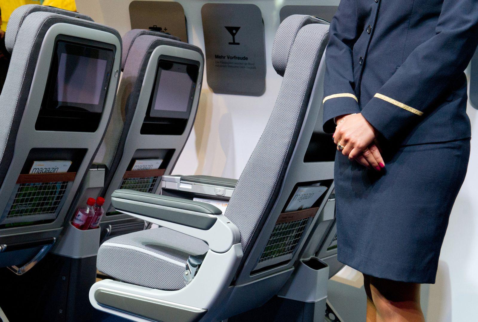 Sitzklassen Flugzeuge/ Lufthansa/ Premium Economy