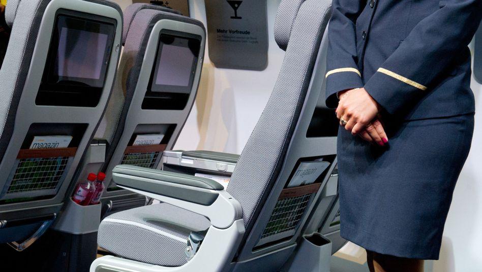 Premium-Economy Class-Sitz der Lufthansa