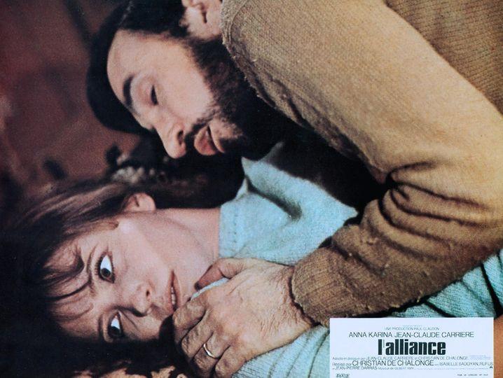 Auch als Schauspieler war das Multitalent aktiv: Jean-Claude Carriere mit Anna Karina in »L'Alliance«