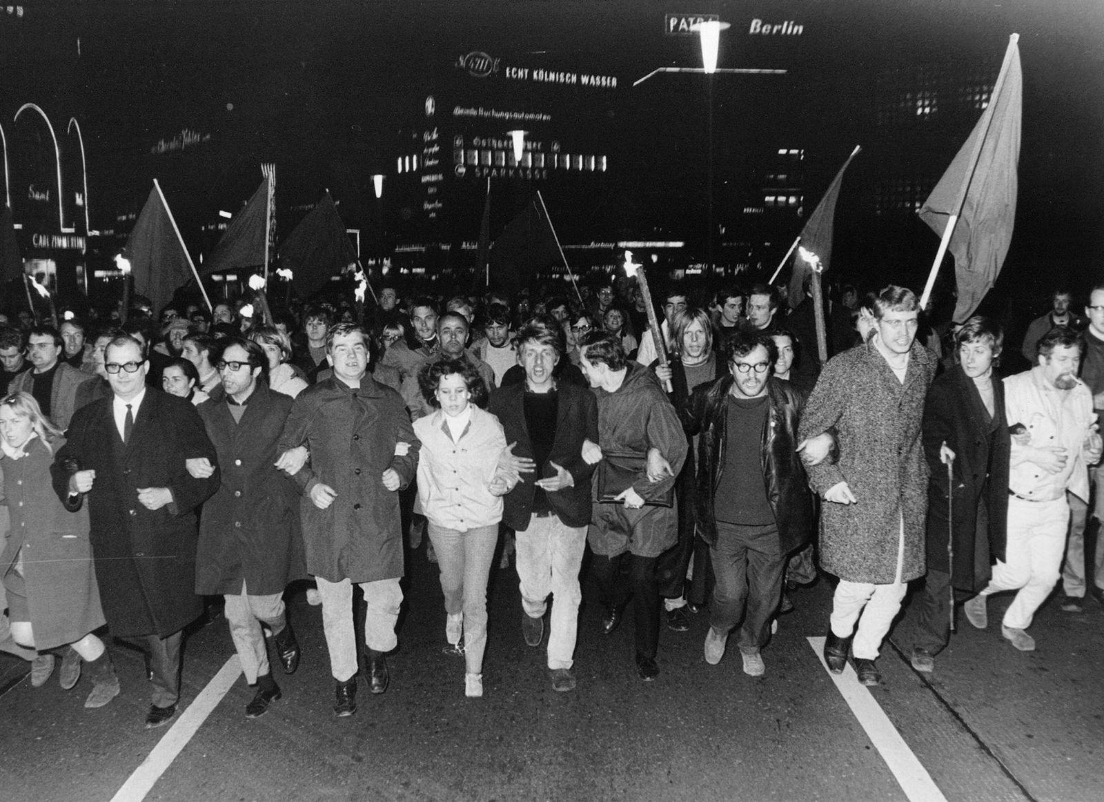Springer / Protest / Blockade