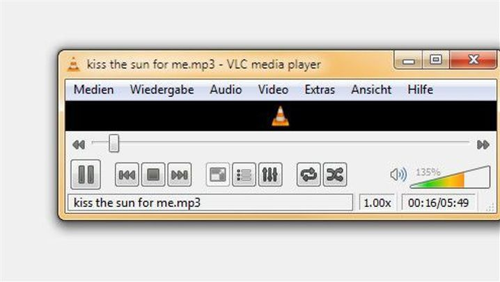 Musik-Player: VLC Media Player