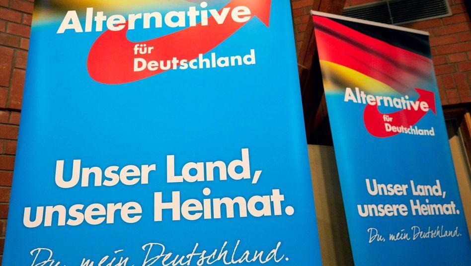 Poster der AfD