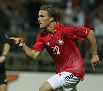 Torschütze Podolski: Der wahrhaftige Spaßfußballer Deutschlands