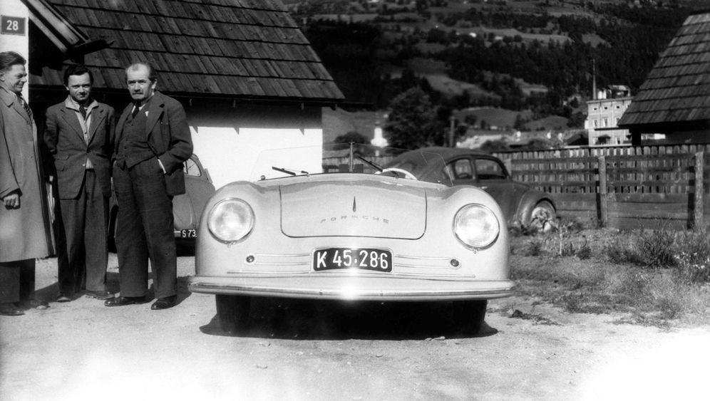 Porsche-Designer Erwin Komenda: 911 durch 356
