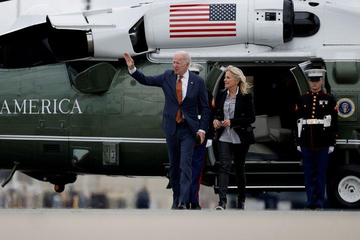 US-Präsident Joe Biden und Jill
