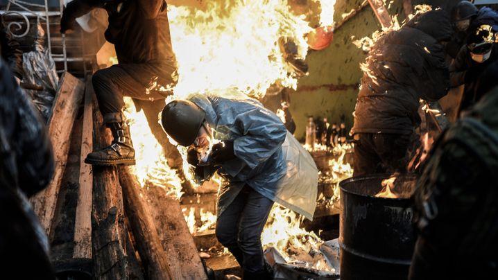 Photo Gallery: The Disintegration of Kiev