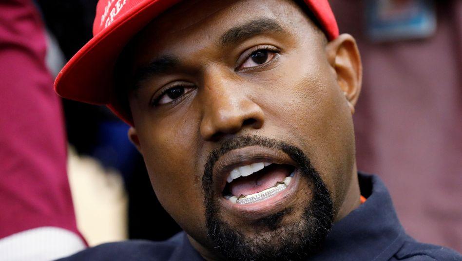 Kanye West: sein Motto - #2020VISION
