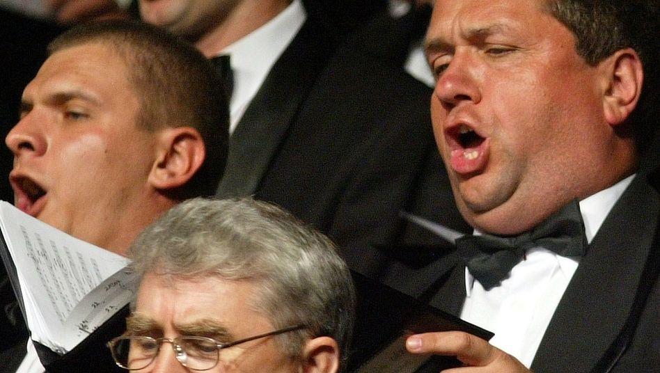 Der Chor als ein großer Organismus: Der Puls aller Sänger schlägt synchron (Archivbild)