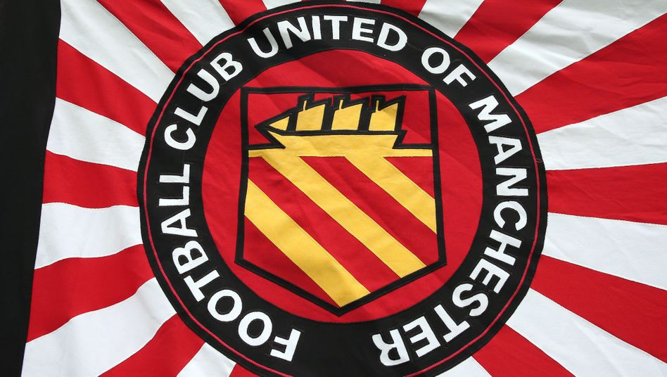 """Wappen von United of Manchester: """"Vierte Liga ist möglich"""""""