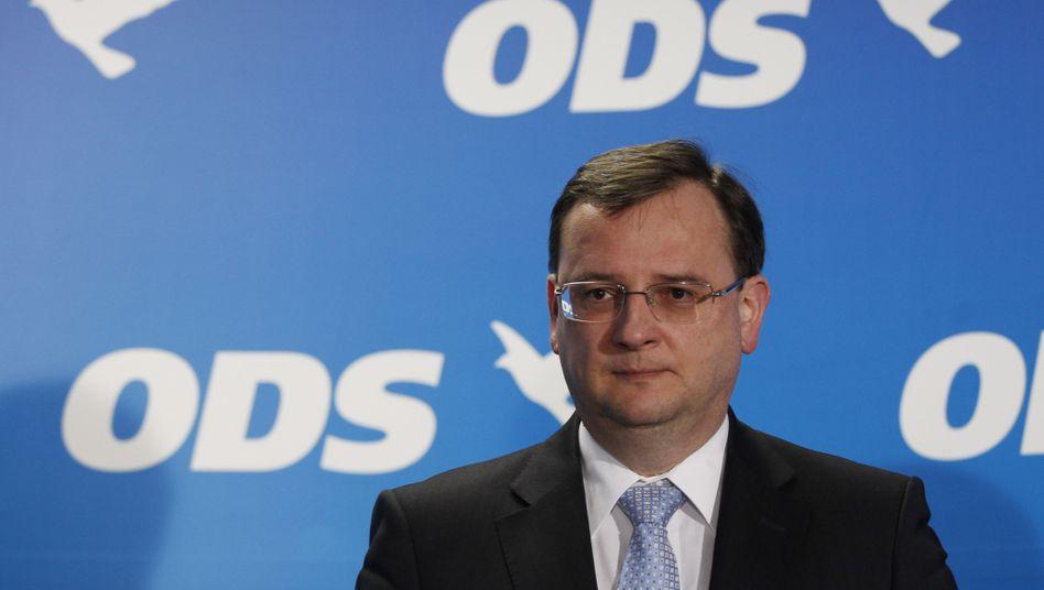 Tschechiens Ministerpräsident Necas: Kampf um die Existenz der eigenen Regierung