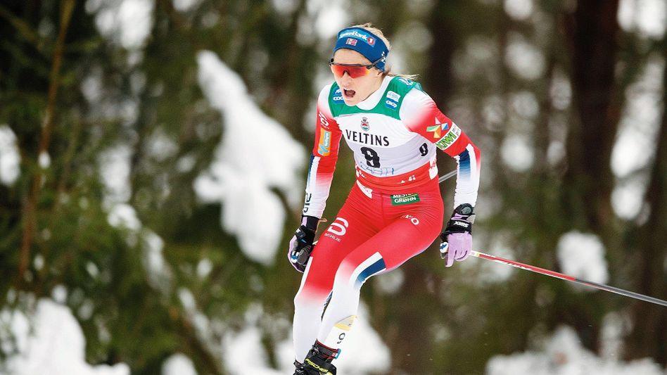 Skilangläuferin Johaug in Lahti im Januar: Sperre statt Straferlass