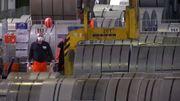 Stahlfirmen geht das Material aus
