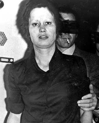 """Ulrike Meinhof bei ihrer Verhaftung 1972: """"Dunkle Todessehnsucht"""""""