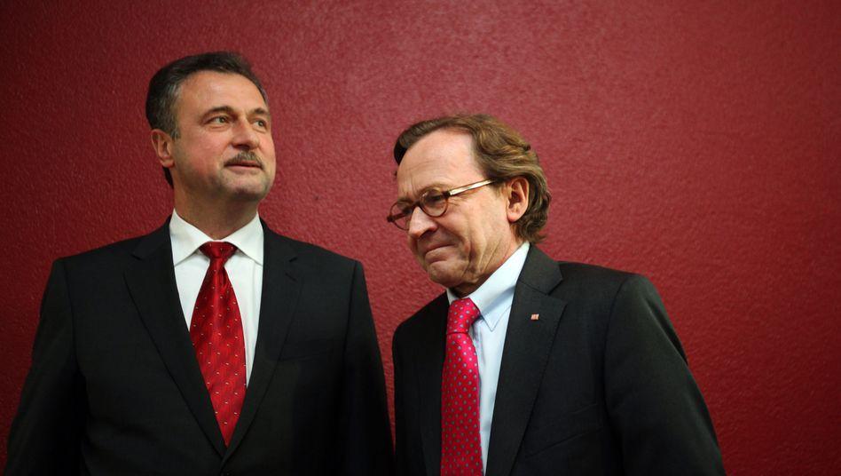 Weber und Weselsky: Schlichtung statt neuem Streik?
