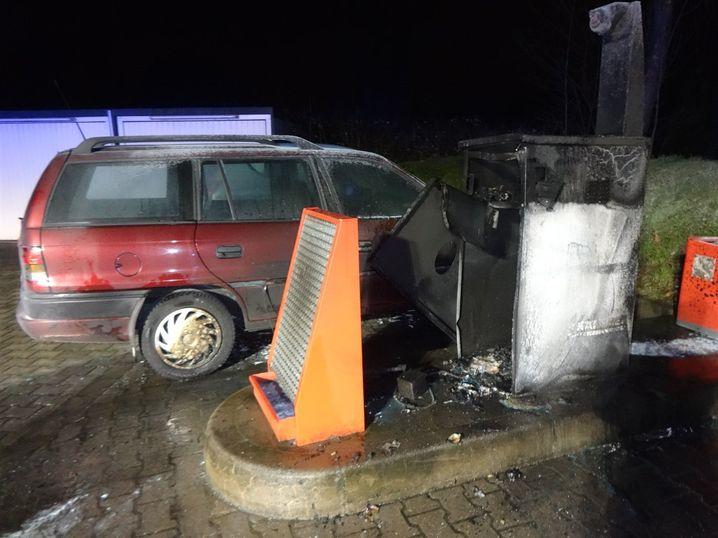 Tankstelle in Herne: Verpuffung nach Staubsauger-Einsatz