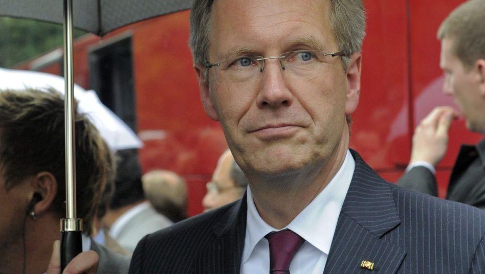 Bundespräsident Wulff: Im Fall Sarrazin nahm sein Amt eine Mediatorenrolle ein