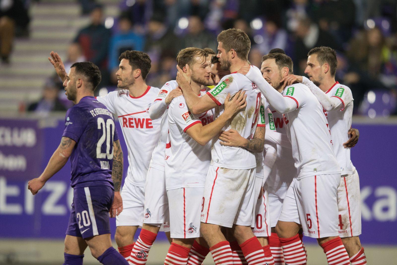 Erzgebirge Aue - 1. FC Köln