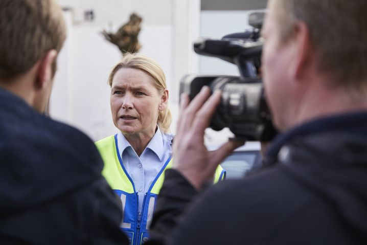 Polizeisprecherin Lüttmann