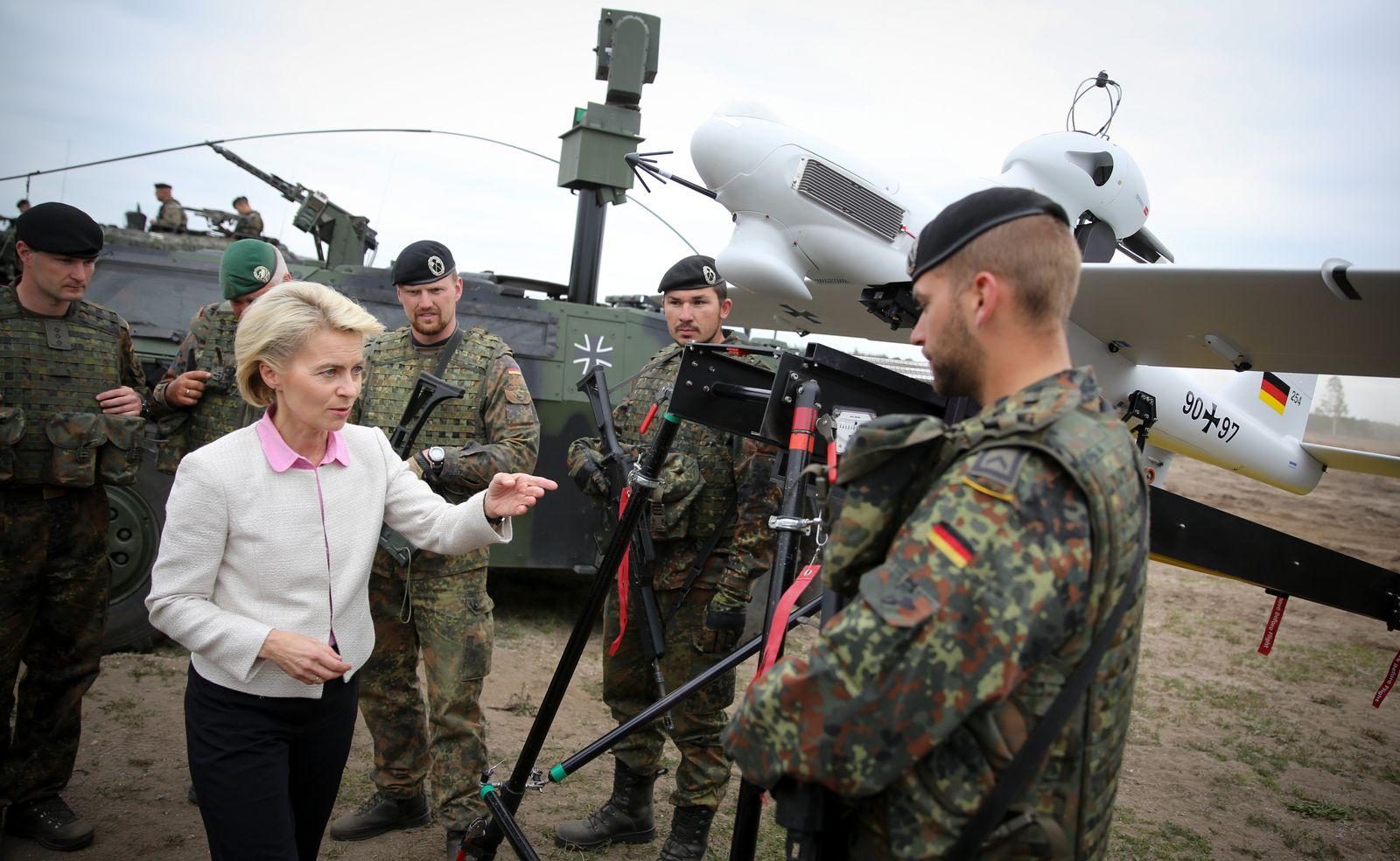 Von der Leyen/ Bundeswehr
