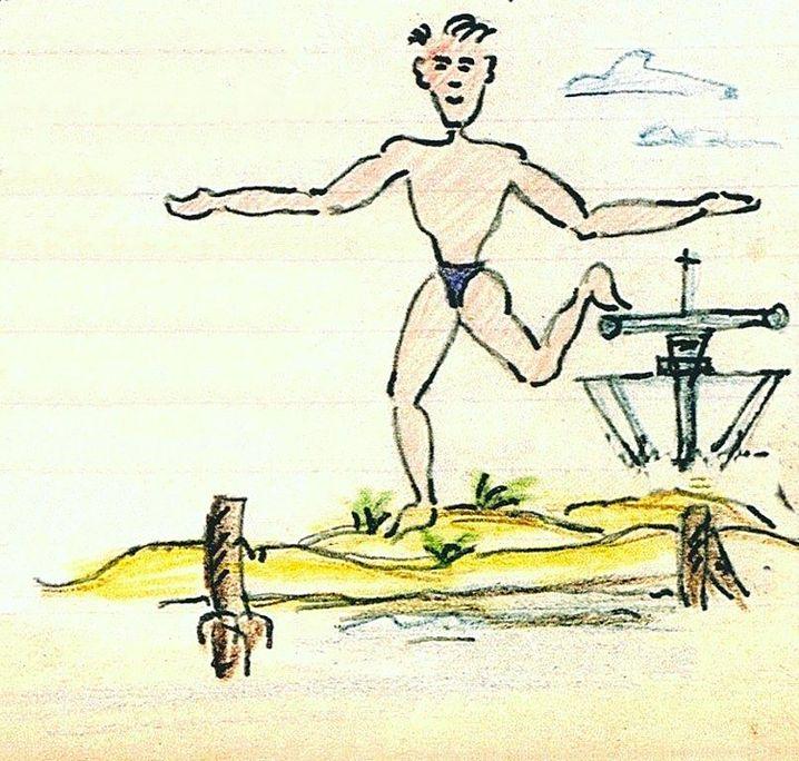 Zeichnung: Hans Buch