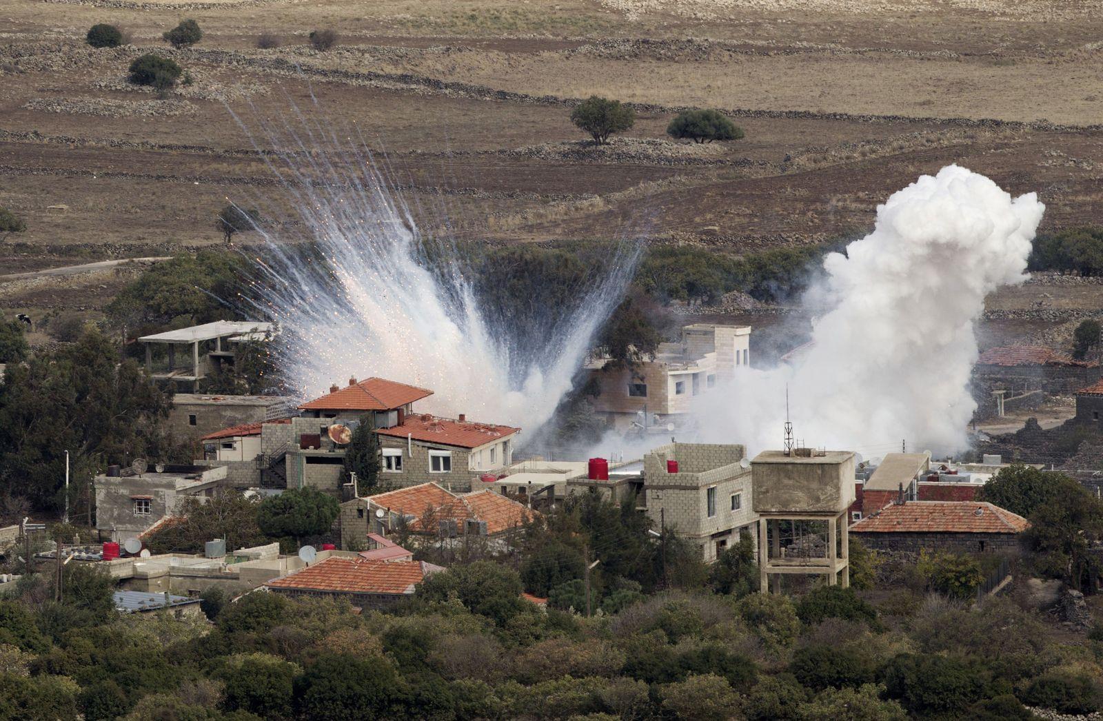 Syrien/ Israel/ Golanhöhen